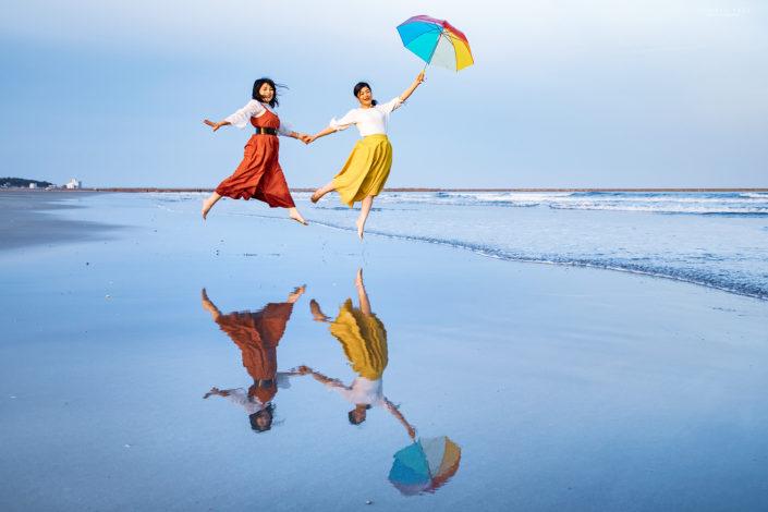 「リフレクションビーチ」NHK取材